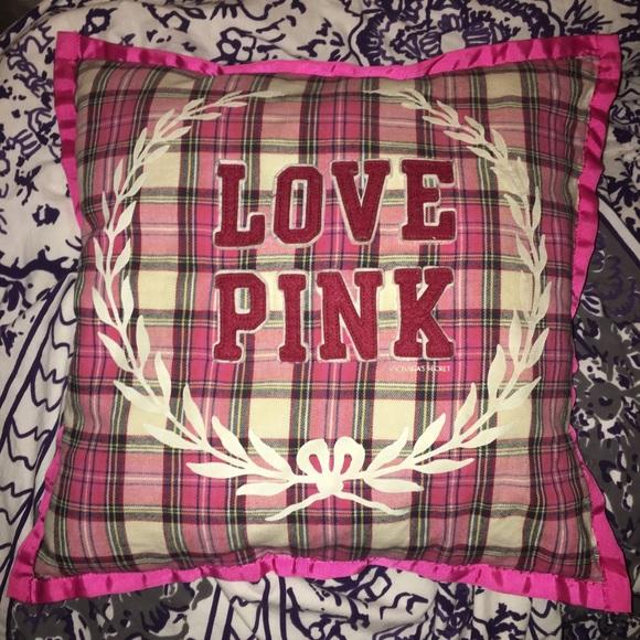 PINK Victoria's Secret Other - Vintage VS PINK pillow